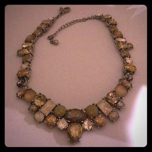 White House Black Market multi stone necklace